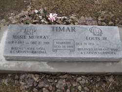 Jessie Lou <i>Murray</i> Timar