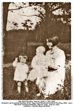 Ida Alma <i>Hartley</i> Bednego