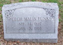 Cecil Malin Funk