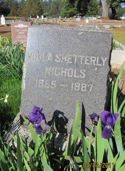Viola <i>Shetterly</i> Nichols