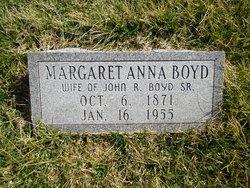 Margaret Anna <i>Land</i> Boyd