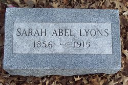 Sarah Abel <i>Abuhl</i> Lyons