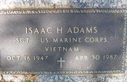 Isaac H Adams