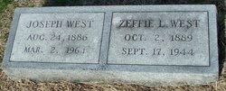Zeffie Lee <i>Hill</i> West