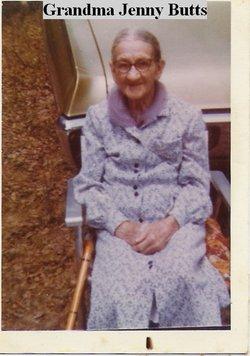 Mary Virginia Jennie <i>Brooks</i> Butts