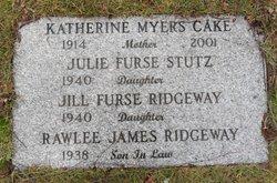 Katherine <i>Myers</i> Cake
