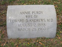 Annie <i>Purdy</i> Andrews