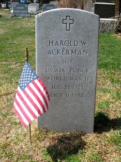 Harold W Ackerman