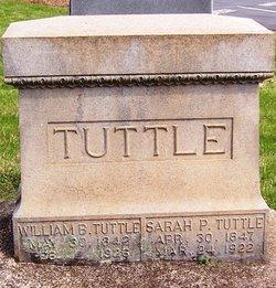 Sarah Petree Sally <i>Baker</i> Tuttle