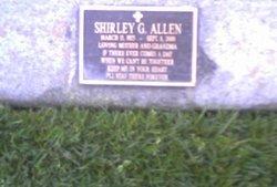Shirley G Allen