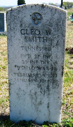 Pvt Cleo W. Smith