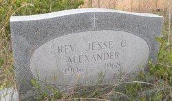 Rev Jessie C Alexander