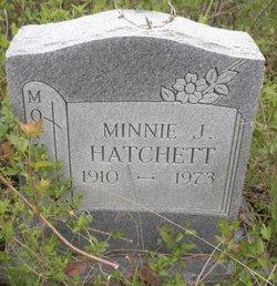 Minnie J Hatchett