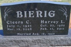 Cleora Clara <i>Greb</i> Bierig