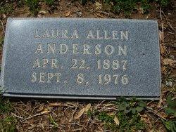 Laura Kathleen <i>Allen</i> Anderson
