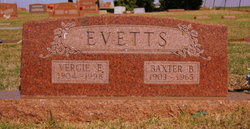 Baxter B. Evetts