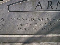 Elizabeth <i>LeGro</i> Arnold