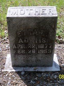 Etta E. Adams