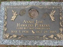 Annie Lou <i>Hawkins</i> Perkins