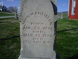 John Wesley Adamson