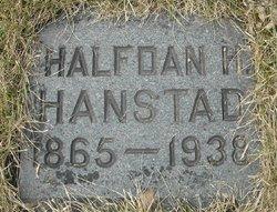 Halfdan H Hanstad