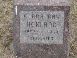 Clara May Ackland