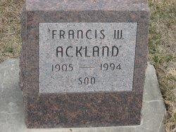 Francis W. Ackland