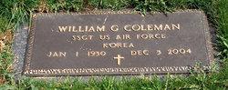 William G Coleman