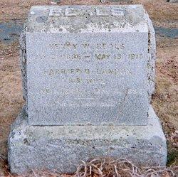 Frederick W Fred Beals