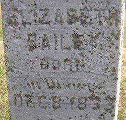 Elizabeth <i>Henthorn</i> Bailey