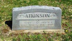 Clara Pearl <i>Allen</i> Atkinson