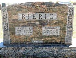 Anna K <i>Ruppel</i> Bierig