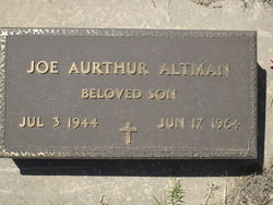 Joe Aurthur Altman