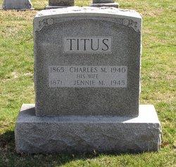 Jane Jennie <i>English</i> Titus
