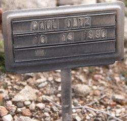 Paul Datz