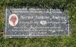 Norma Jeanine Ambroz