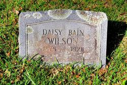 Daisy <i>Bain</i> Wilson