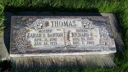 Sarah Esther <i>Barton</i> Thomas