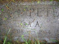 Ira A Peterson