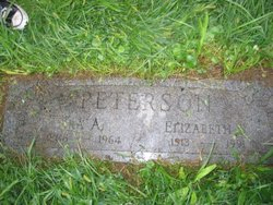 Mrs Elizabeth S Peterson