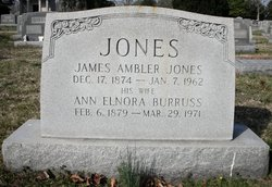 Ann Elnora <i>Burruss</i> Jones