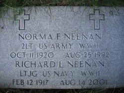 Lieut Norma Francis <i>Harrington</i> Neenan