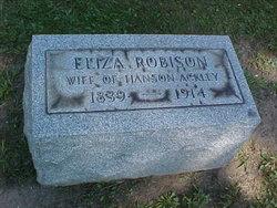 Eliza <i>Robison</i> Ackley