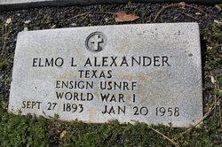 Elmo Lumpkin Alexander