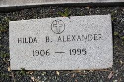 Hilda <i>Bergstrom</i> Alexander