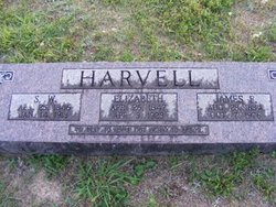 Sarah Elizabeth <i>Moss</i> Harvell