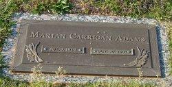 Marian <i>Carrigan</i> Adams