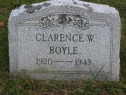 Clarence W Boyle