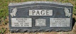 Harriette Ann <i>Baughn</i> Page