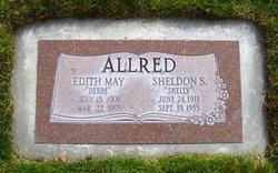 Edith May Deede <i>Aldrich</i> Allred